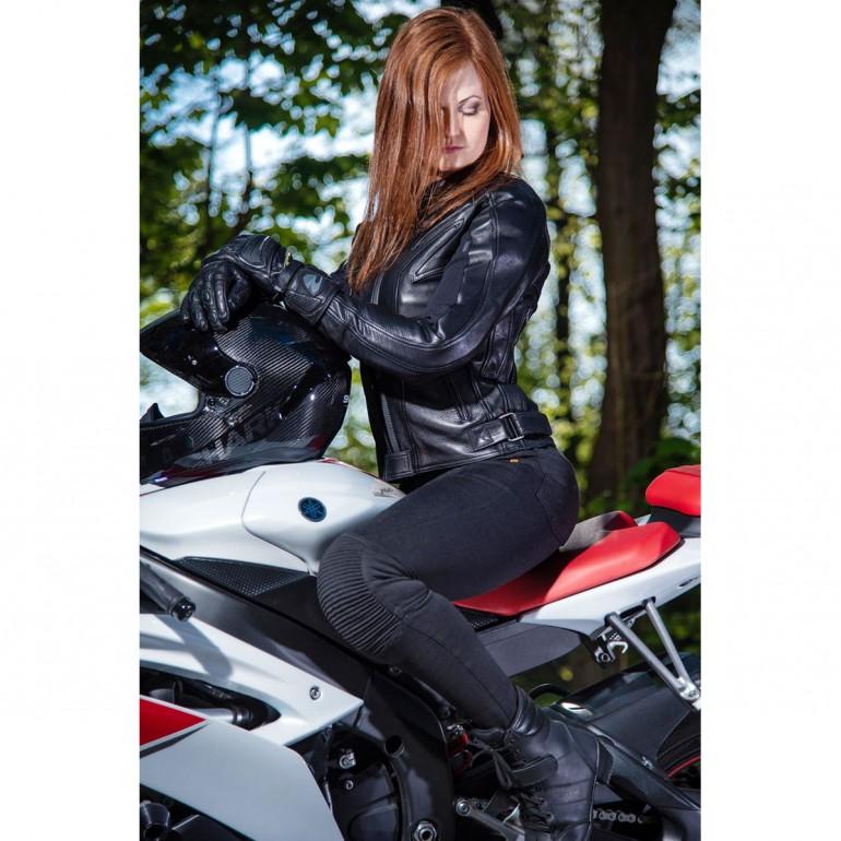 Motogirl Legging Nieuwe versie met CE-level II protectie