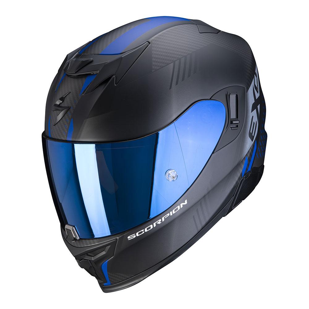 SCORPION EXO-520 AIR blauw zwart