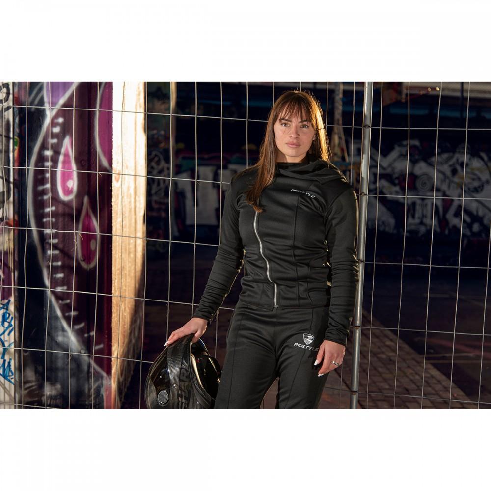 Charlie BLACK joggingpak /100% Kevlar/ CE-level II protectie