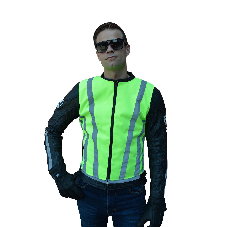Fluo Cordura vest met 3M reflectie