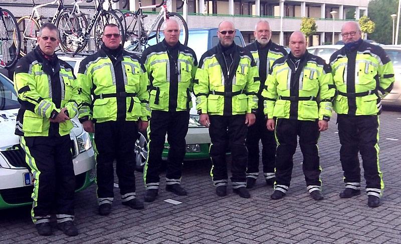Begeleidingsteams wielerwedstrijden