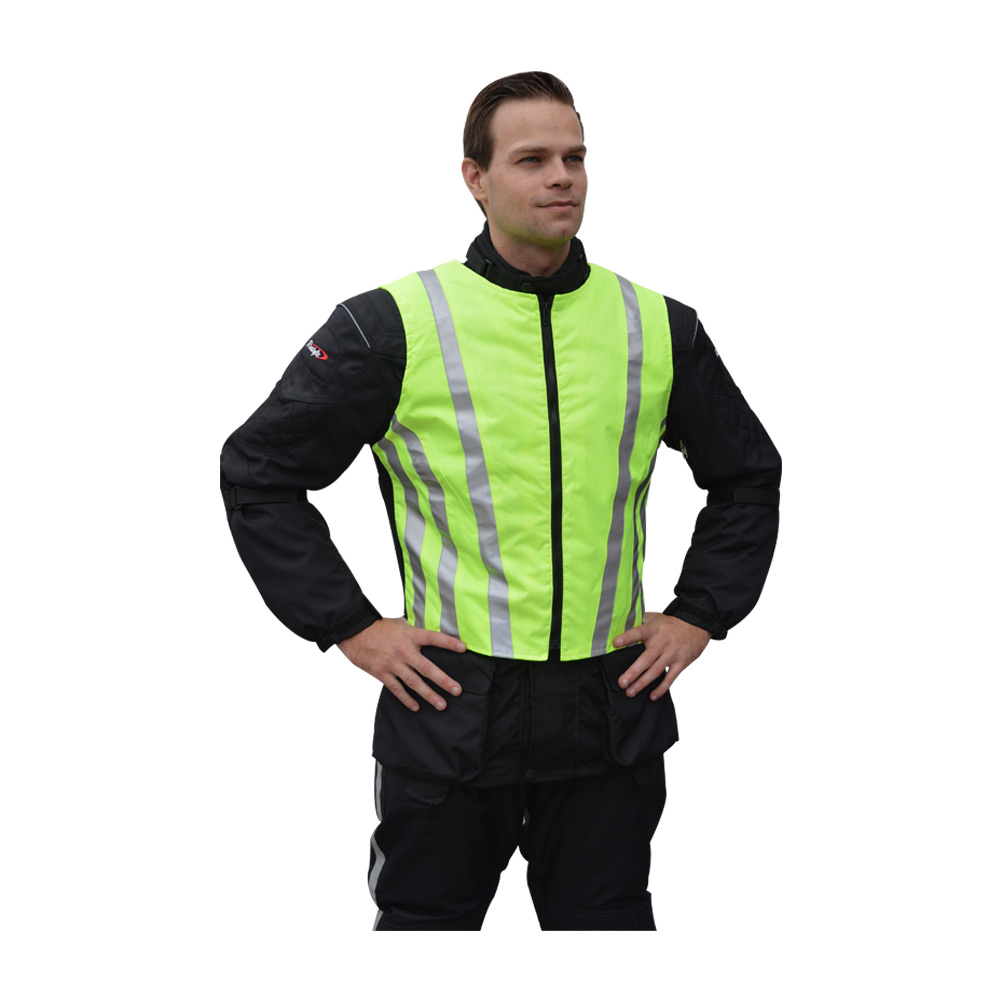 Fluo reflectie vest